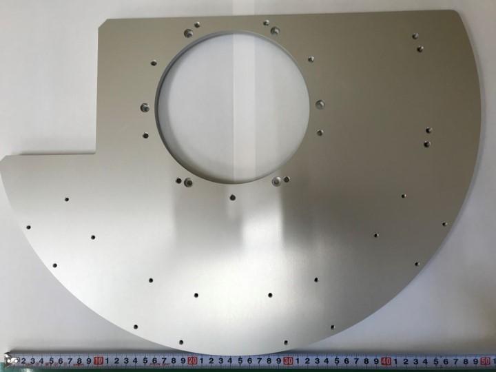 A5052材 半円盤